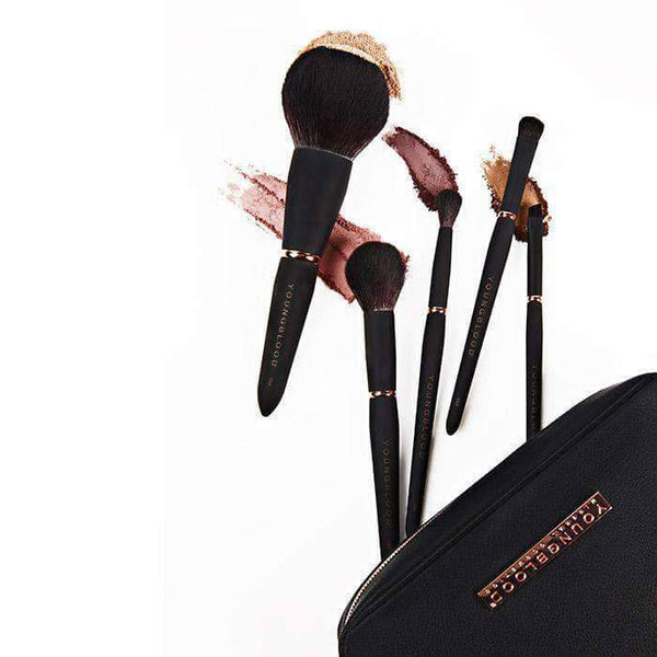 Youngblood - Jet Set  Make Up Brush Kit - Beauty Junkies Store