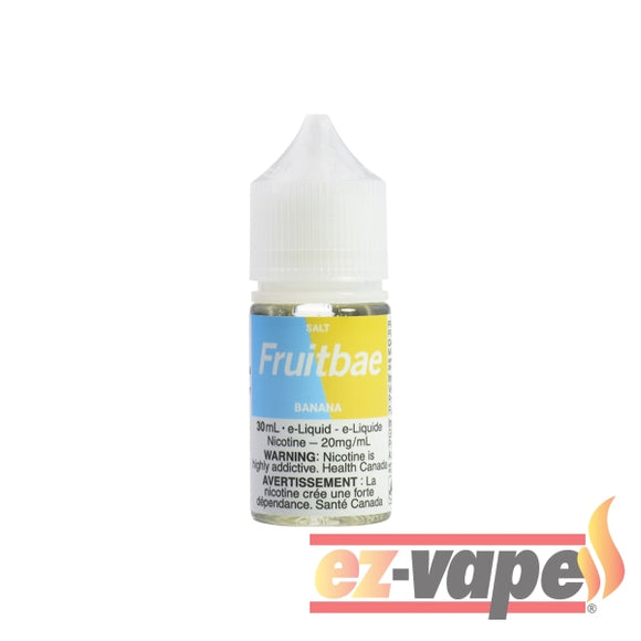 Banana Fruitbae Salt 30Ml / 12Mg Nicotine E-Juice