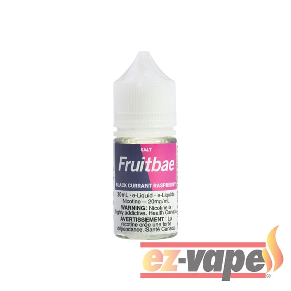 Black Currant Raspberry Fruitbae Salt Nicotine E-Juice