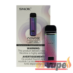 Novo X 800Mah Kit 7 Colour / Salt Nicotine