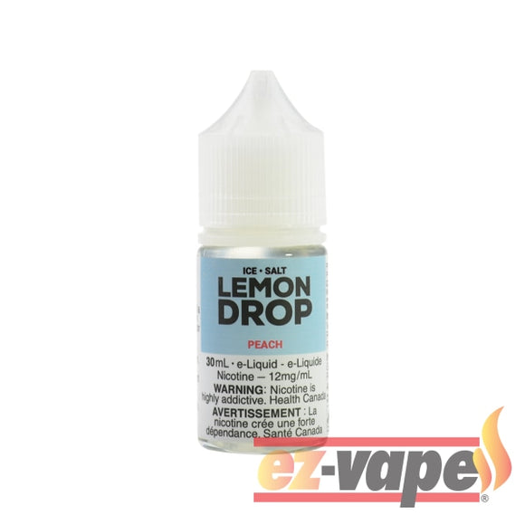 Peach Drop Ice Salt Nicotine E-Juice