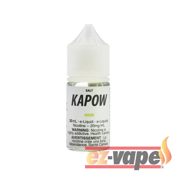 Sour Nic Salt Nicotine E-Juice