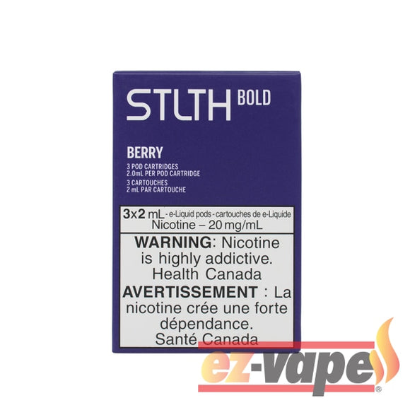 Stlth Bold Pod Berry 20Mg 3/pk Pre-Filled