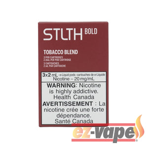 Stlth Bold Pod Tobacco 20Mg 3/pk Pre-Filled