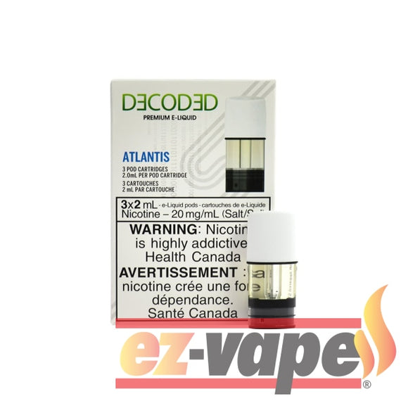 Stlth Pod Atlantis 3/pk Pre-Filled