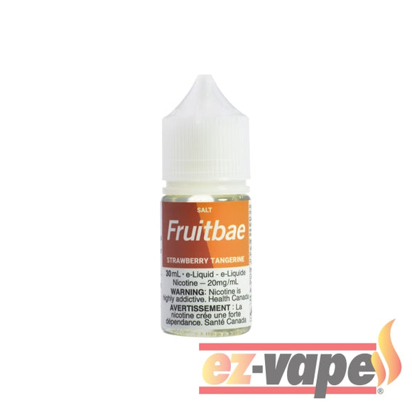 Strawberry Tangerine Fruitbae Salt 30Ml / 12Mg Nicotine E-Juice
