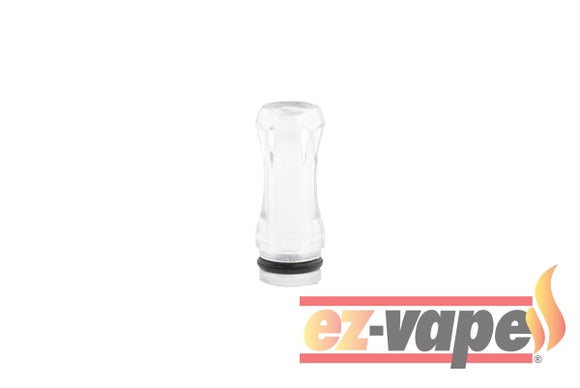 Transparent Plastic Drip Tip Pure