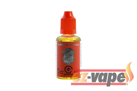 X-Port Eh Tobacco 30Ml / 00Mg Regular Nicotine E-Juice