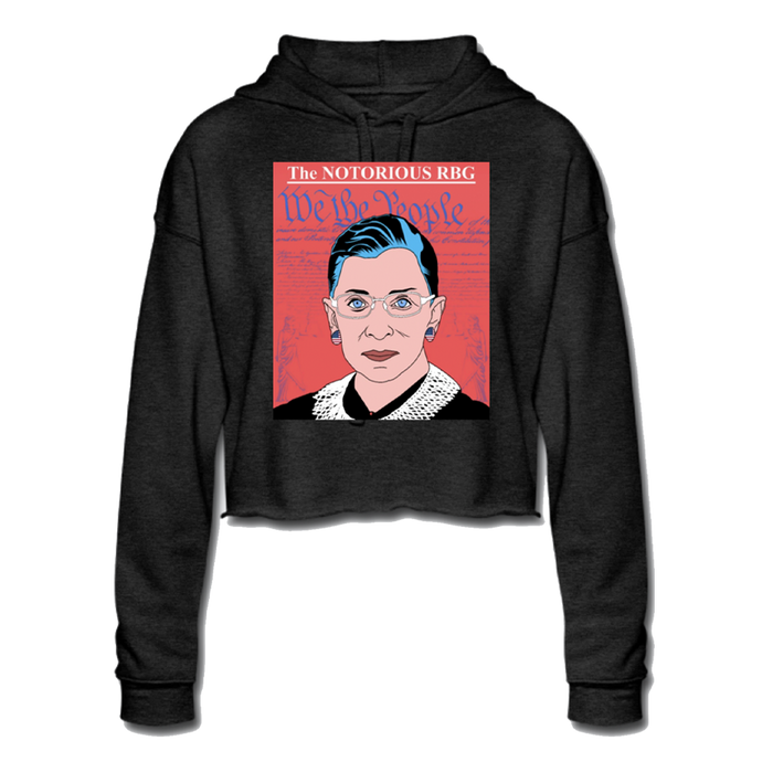 The Notorious RBG Crop Hoodie