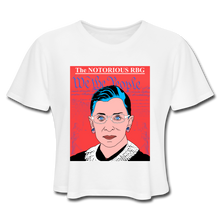 Load image into Gallery viewer, The Notorious RBG Crop Top