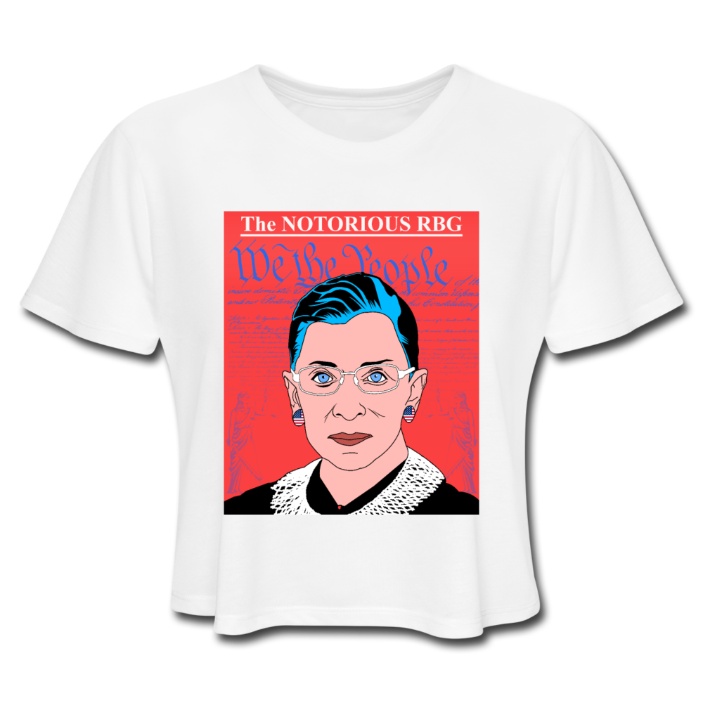 The Notorious RBG Crop Top