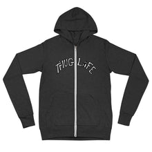 Load image into Gallery viewer, #THUGLIFE Unisex zip hoodie