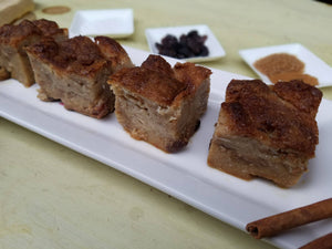 Bread Pudding With Real Rum Sauce