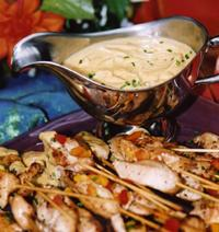 Chicken Satay with Spicy Peanut Sauce,  79.00