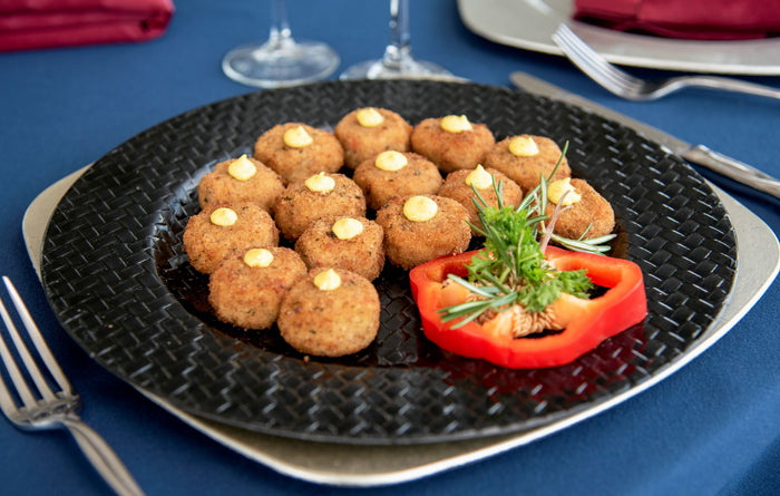 Mini Crab Cakes with Scratchmade Remoulade