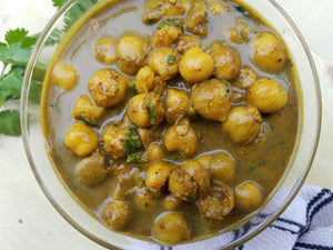 Curried Channa (Curried Chick Peas)