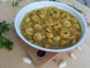 Curried Shrimp,  157.00