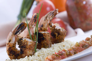 Grilled Shrimp Kabob,  162.00