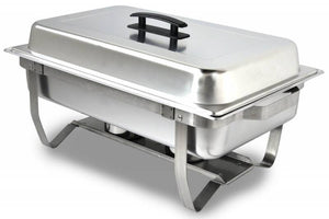Stainless Steel Chafing Dish (Rental),  30.00