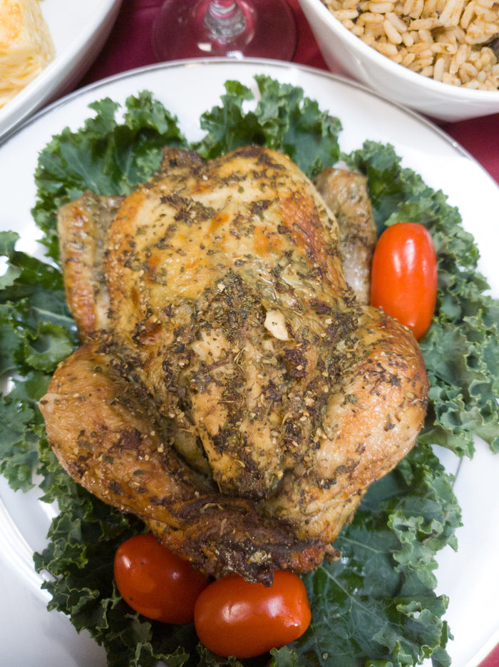 Herb Roasted Whole Cornish Hen