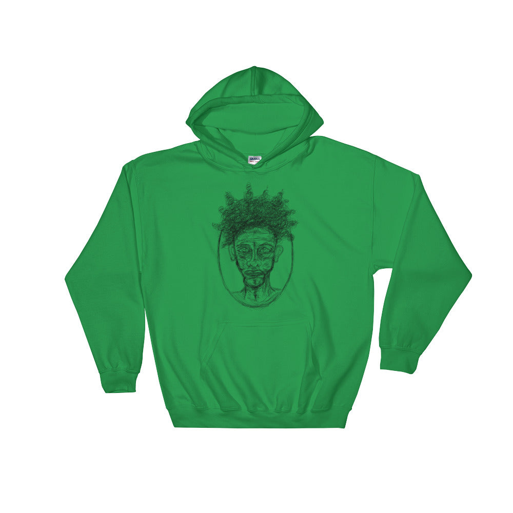 Frazzle Dazzle Hooded Sweatshirt - Little Green Guy