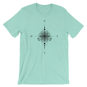 Find Your Center Short-Sleeve Unisex T-Shirt - Little Green Guy