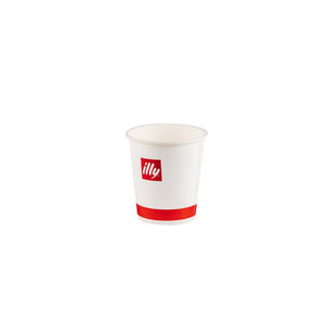 Kartona krūzītes illy 4oz, 50 gb, 120ml