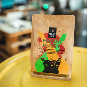 Magic Pussy, Etiopija,Ye Genet, 200g, Rocket Bean Roastery