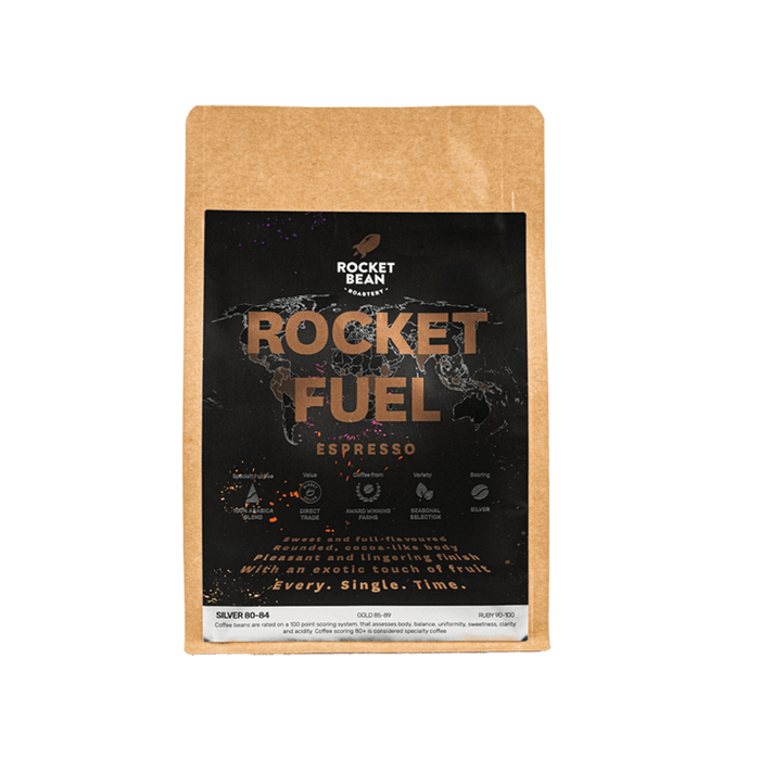Rocket Fuel, House Blend, Espresso, 200g, Rocket Bean Roastery