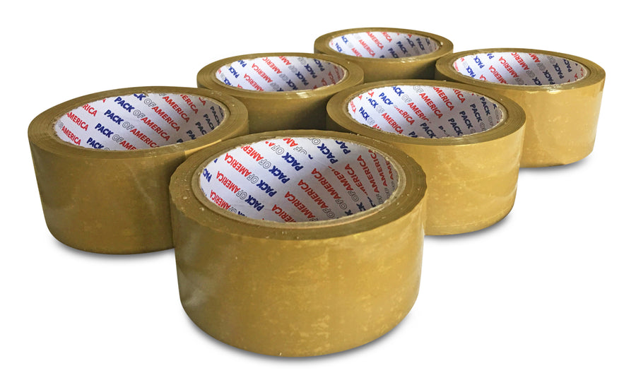Packing and Shipping Tape | Economical Adhesive Tapes for Moving | Boxes, Carton Sealing, Home & Office Mailing, Commercial Warehouse Depot