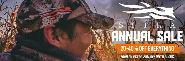 Sitka Gear Annual Sale