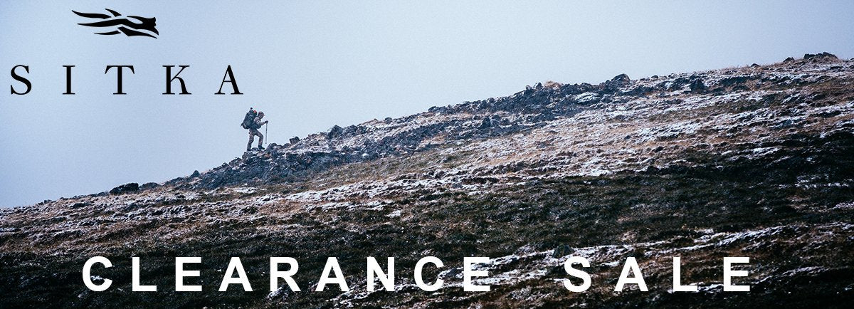 Sitka Gear Clearance Sale