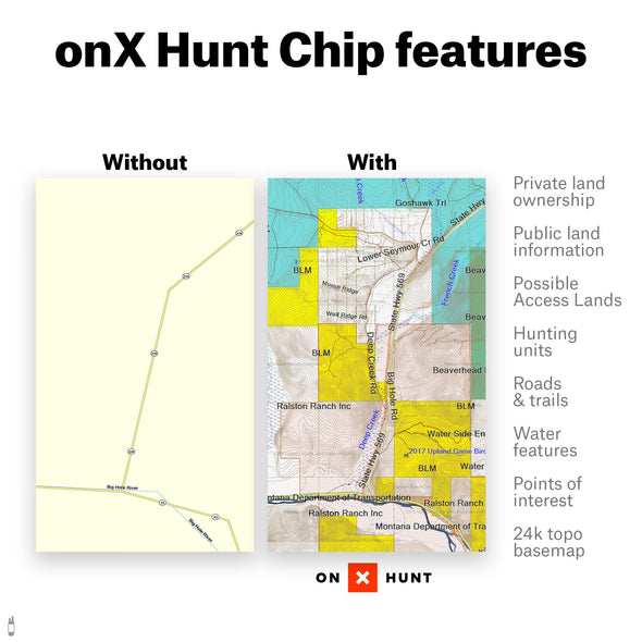 Colorado Digital Hunting Map - 1 Shot Gear