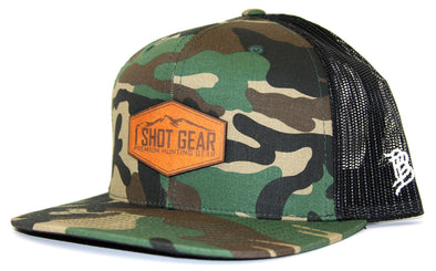 1 Shot Gear Camo Trucker Hat - 1 Shot Gear