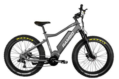 Rambo Bikes 2020 Rambo 750XPS Nomad Carbon Electric Hunting Bike - 1 Shot Gear
