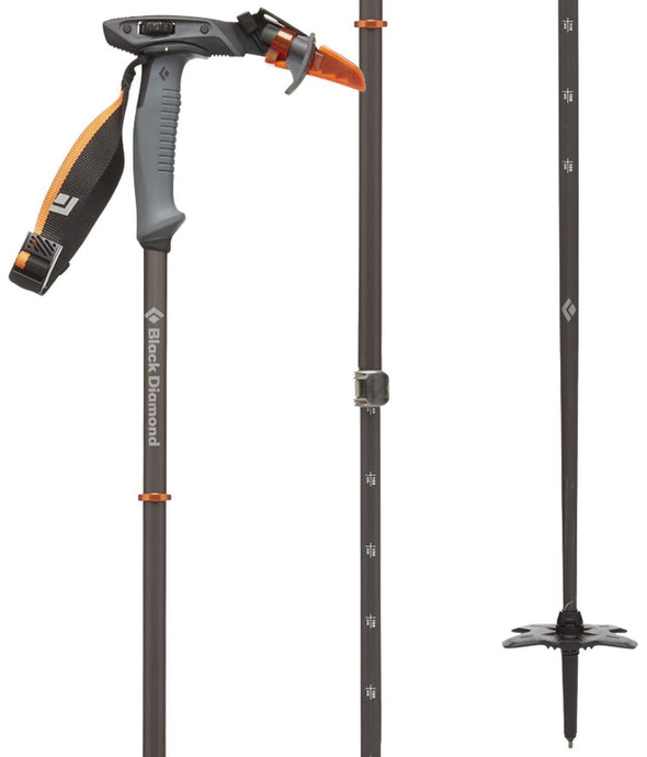 Black Diamond Carbon Whippet Ski Pole - 1 Shot Gear