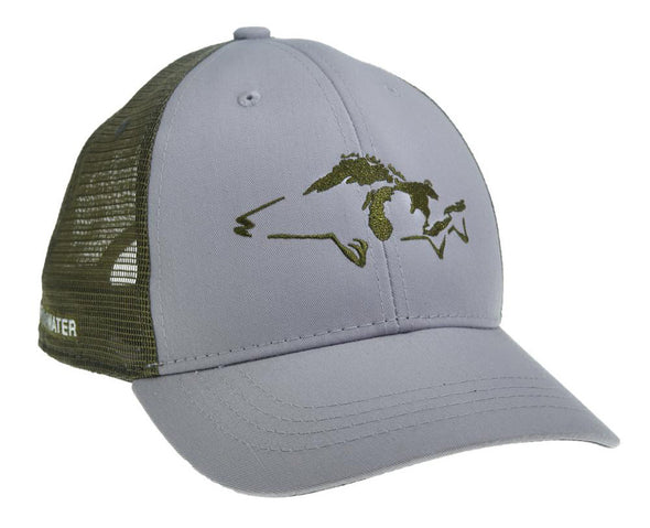 Great Lakes Walleye Hat - 1 Shot Gear