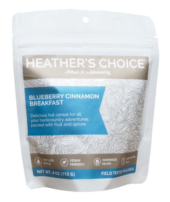 Hot Cereal Breakfast - Blueberry Cinnamon - 1 Shot Gear