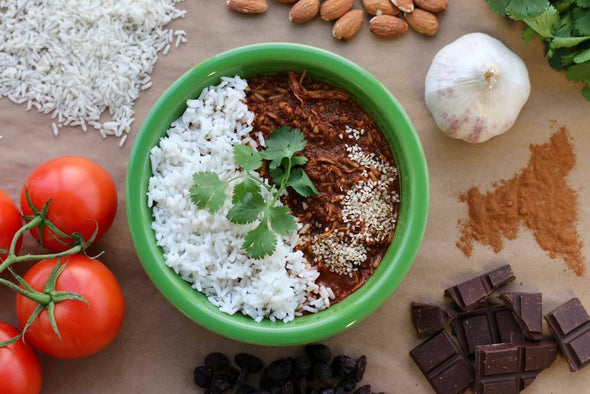 Heather's Choice Organic Chicken Mole with Rice - 1 Shot Gear