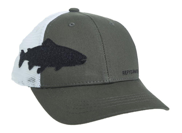 RepYourWater Trout Fly Patch Hat - 1 Shot Gear