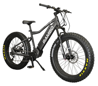 Rambo Bikes 2020 Rambo 1000XPS Rebel Carbon Electric Hunting Bike - 1 Shot Gear