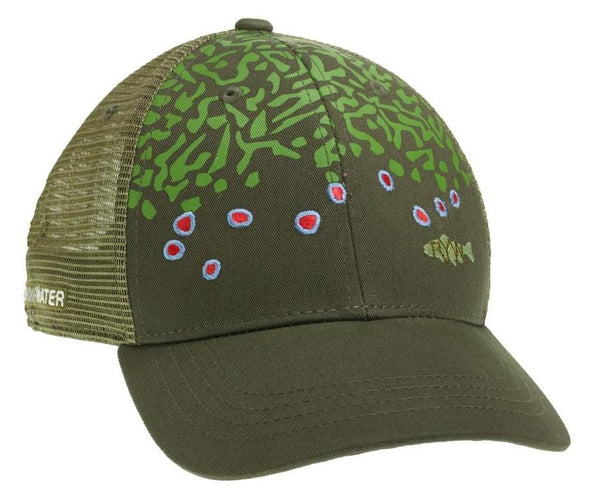 Brook Trout Skin Hat - 1 Shot Gear
