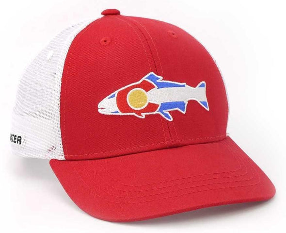 RepYourWater Colorado Flag Trout Low Pro Hat - 1 Shot Gear