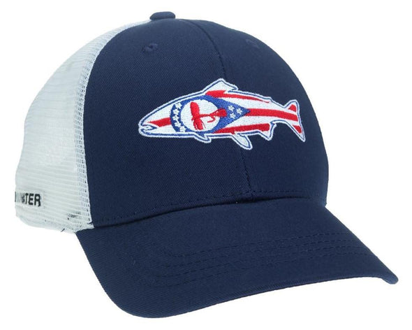 Ohio Flag Hat
