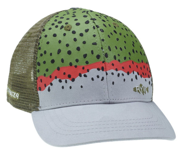 RepYourWater Rainbow Trout Skin Hat - 1 Shot Gear