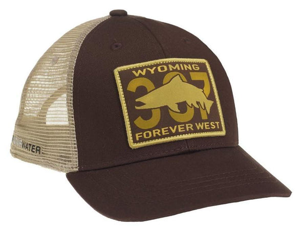 RepYourWater Wyoming 307 Patch Hat - 1 Shot Gear