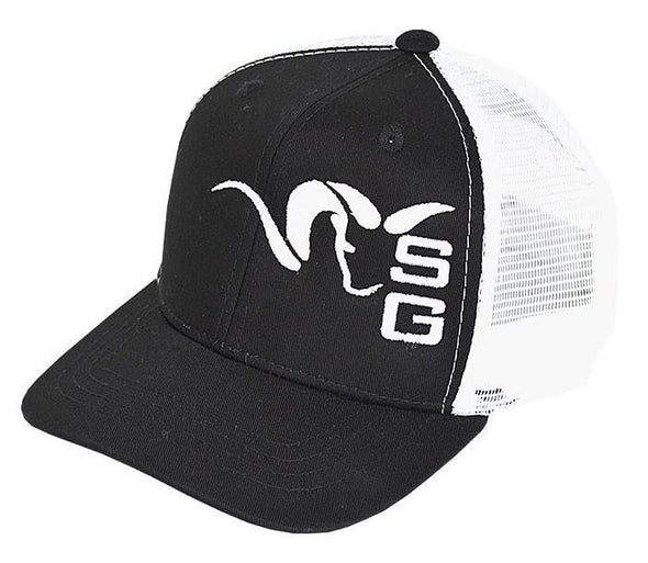 Stone Glacier SG Ram Youth Trucker Hat SKU 60008-BK-OSFM