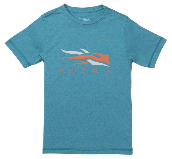 Sitka Gear Youth Logo Tee SS