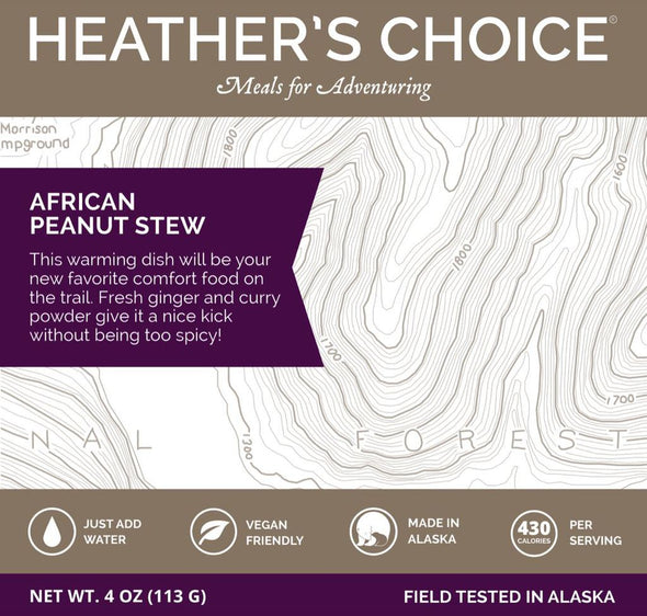 Heather's Choice African Peanut Stew (Vegan & Vegetarian) - 1 Shot Gear