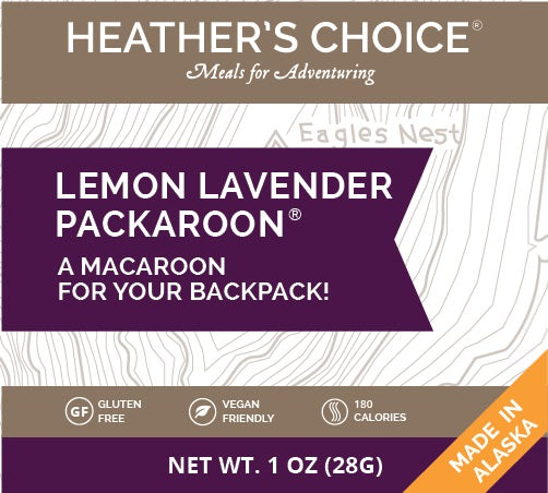 Packaroons - Lemon Lavender - 1 Shot Gear